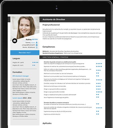 Recevez gratuitement des CV par email